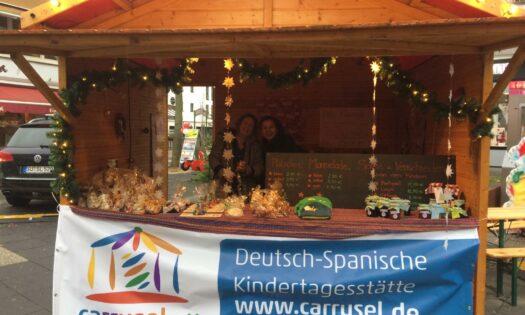 Auf dem Weihnachtsmarkt in Bad Godesberg