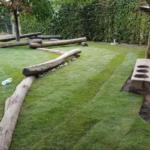 Unser neuer Rasen
